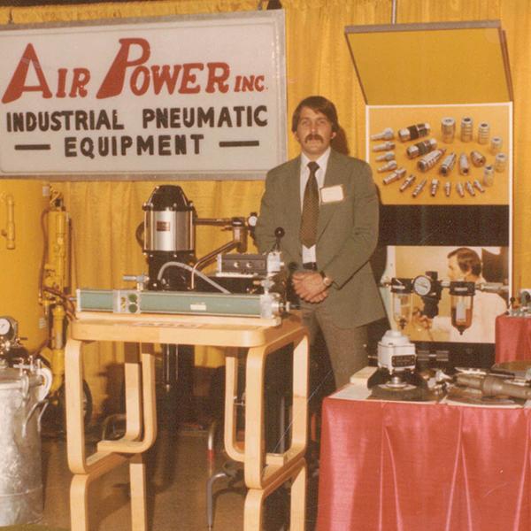 1979: Tradeshow – Raleigh, NC.