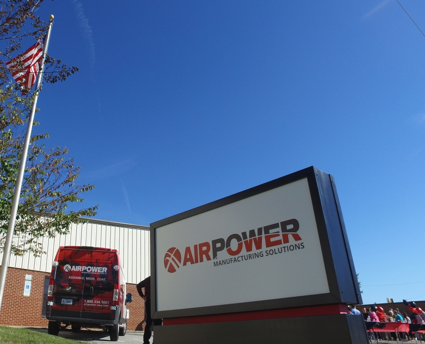 Air Power Corporate branding