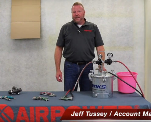 How To Properly Set Up a Binks Pressure Pot and Spray Gun Fluid Flow Rate