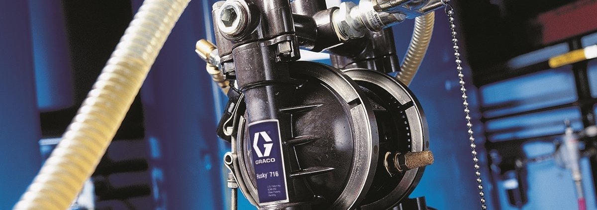 Husky diaphragm pump