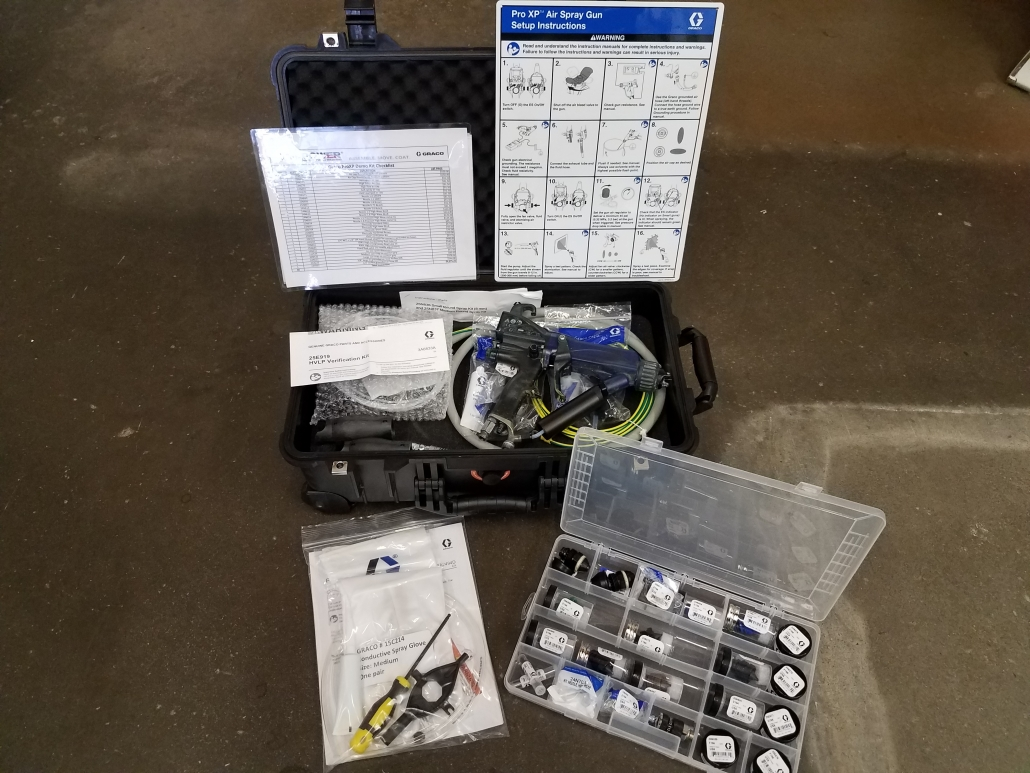 Graco Electrostatic Demo Kit
