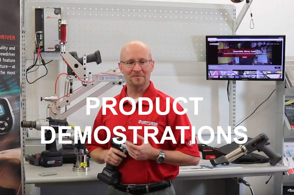 pRODUCT dEMONSTRATIONS