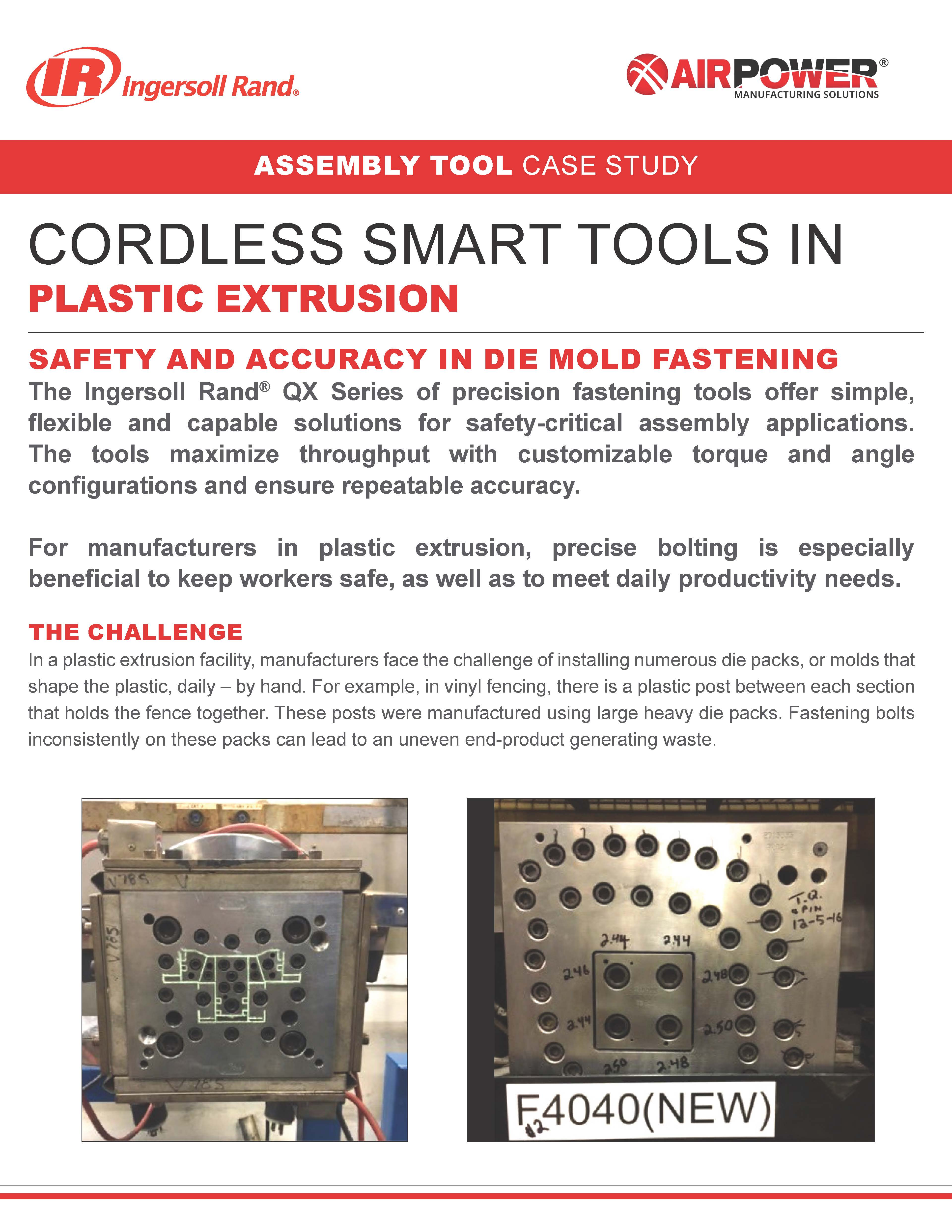 Ingersoll Rand Plastic Extrusion Case Study