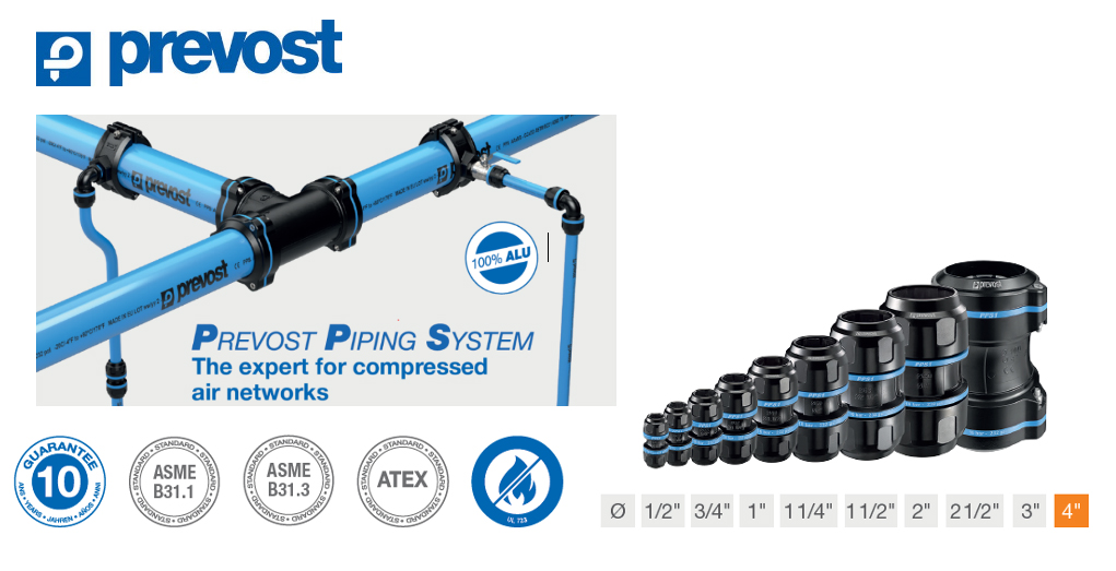 """Provost 4"""" Air Pipe System"""